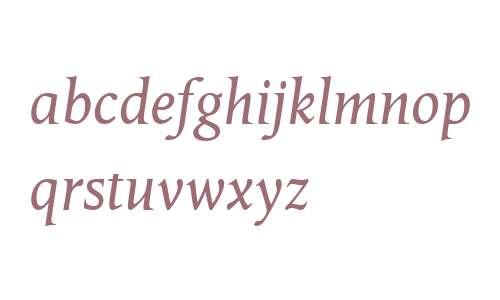 Octavian MT W04 Italic