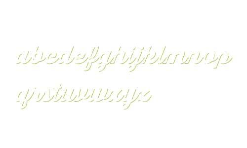 Thirsty Script Rgh W01 Blk Shdw