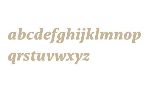Capitolina W03 ExtraBold Italic