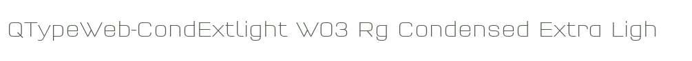 QTypeWeb-CondExtlight W03 Rg