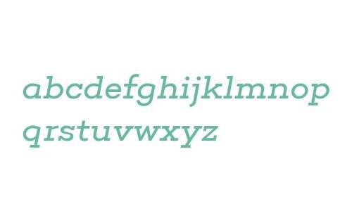 Choplin Book Italic