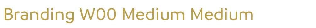 Branding W00 Medium