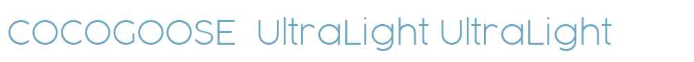 COCOGOOSE  UltraLight