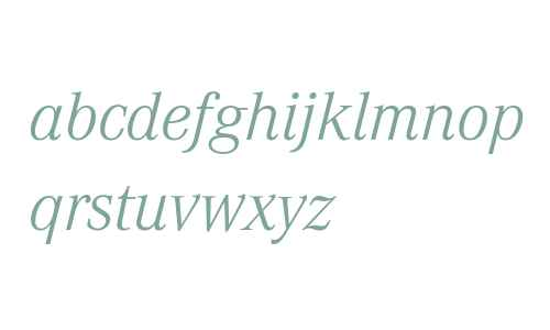Corporate A W07 Light Italic