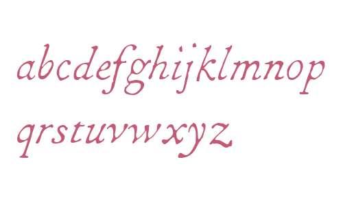 1786 GLC Fournier W00 Italic
