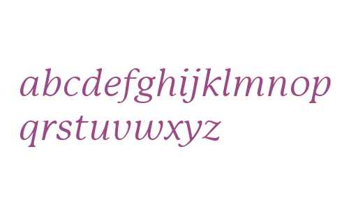 P22 Mackinac W01 Book Italic