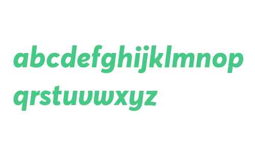 Averta Demo ExtraBold Italic