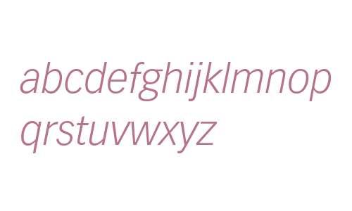 Vectora LT W04 46 Light Italic