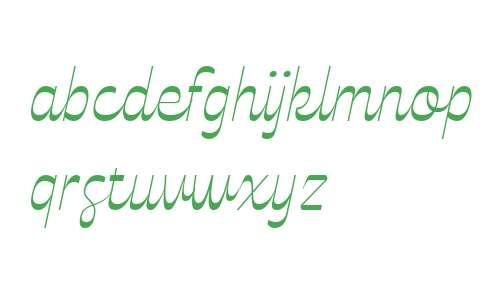 Celestine ExtraLight Italic