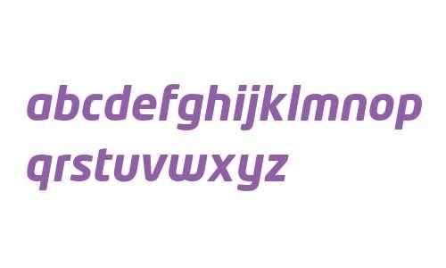 Neo Tech W04 Bold Italic