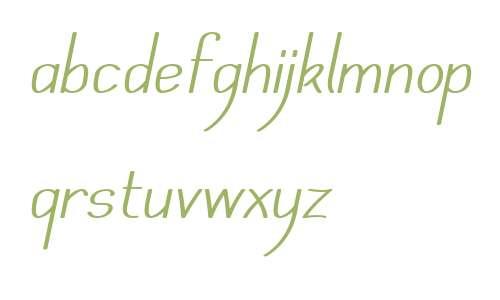 Mechanihan Italic