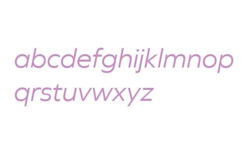 Graphie W03 Book Italic