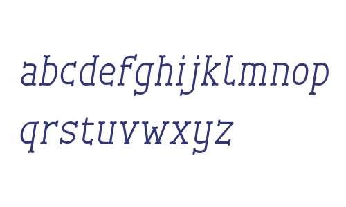 Cherrytha Three Italic