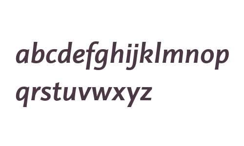 Projekt LT W04 Bold Italic
