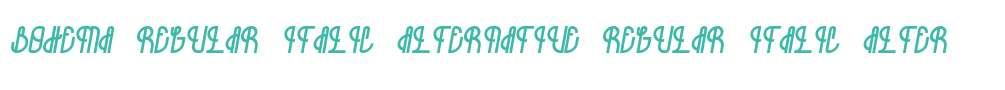 Bohema-Regular-Italic-Alternative