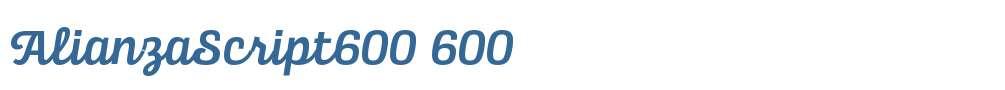 AlianzaScript600