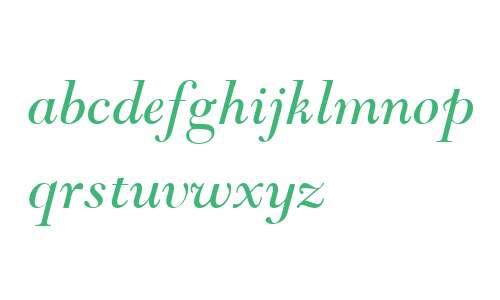 Goudy Modern MT W04 Italic