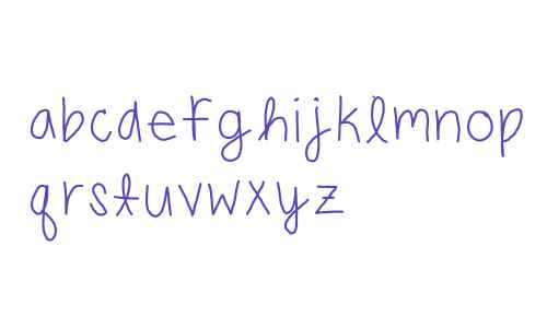 carlys handwriting