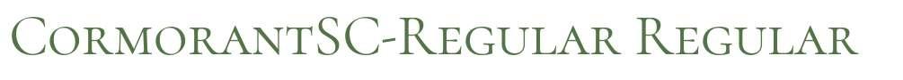 CormorantSC-Regular