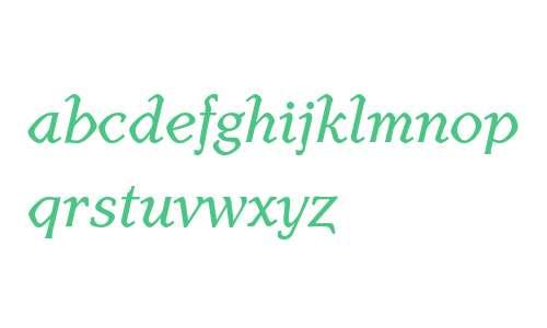 HenmanTT W08 Bold Italic