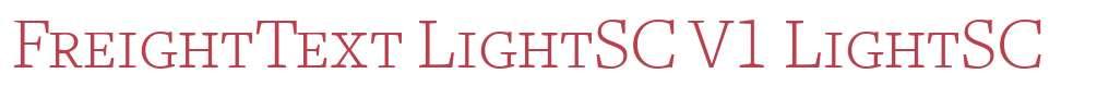 FreightText LightSC V1