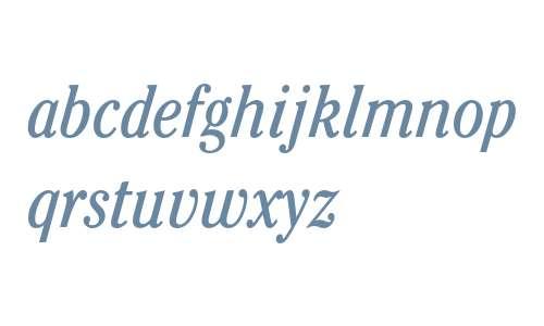 ITC Cheltenham Book Condensed Italic