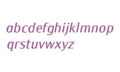 Monem W01 Normal Italic
