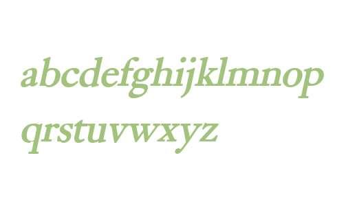 Bliss Bold Italic