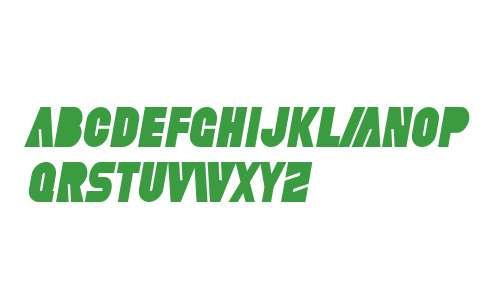 SF Fortune Wheel Condensed Italic V2