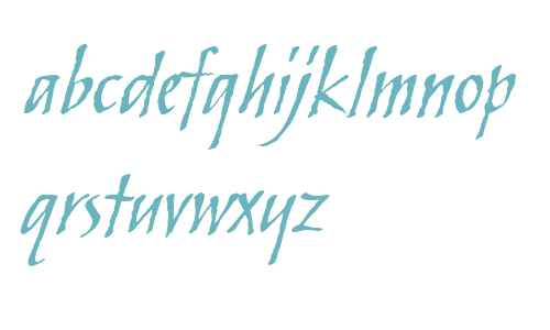 ITC Skylark W01 Italic