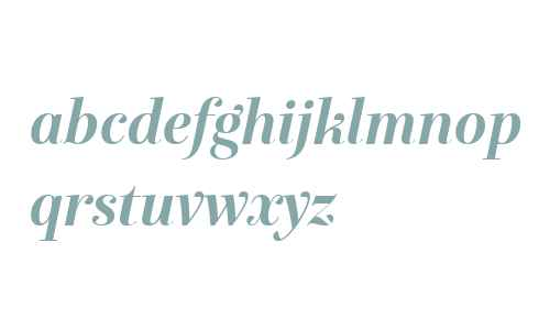 Exquise FY W04 Bold Italic