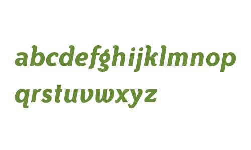 Bailey Sans ITC W04 Bold Italic