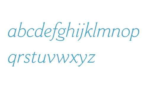 Cantoria MT Std Light Italic