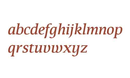 That W01 Medium Italic