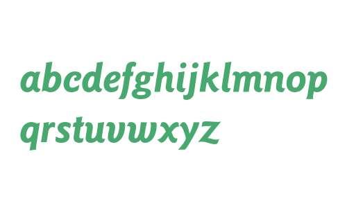 Goudy Sans* Bold Italic