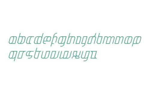 JakoneCondensed Italic W00 Rg