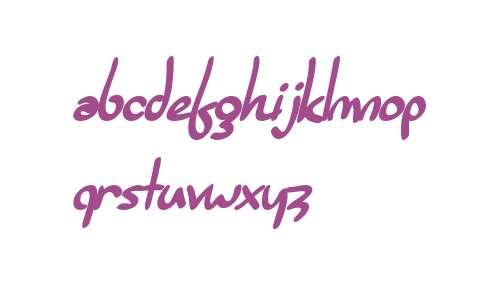 SF Burlington Script Bold V1 V2