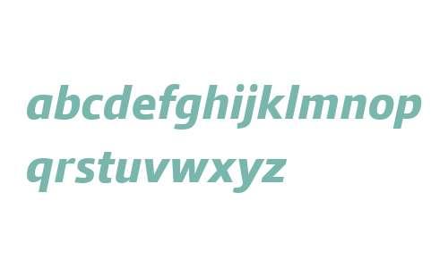 Qubo W03 ExtraBold Italic