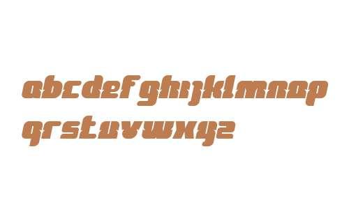 FOREST JUMP Bold Italic