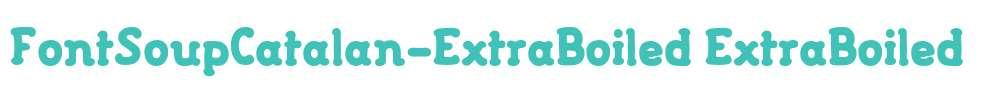FontSoupCatalan-ExtraBoiled