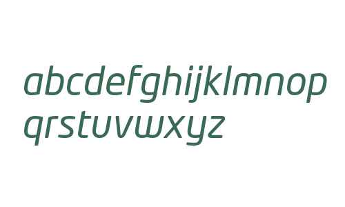 NeoTech Italic