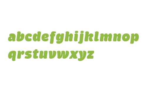 Brevia W02 UltraBlack Italic