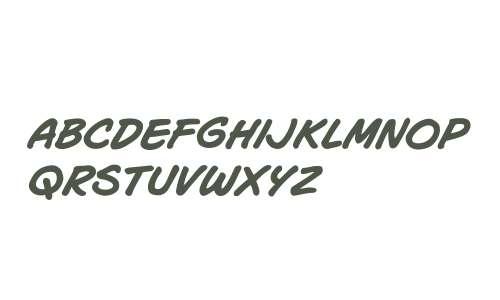 CCJoeMad W00 Bold Italic