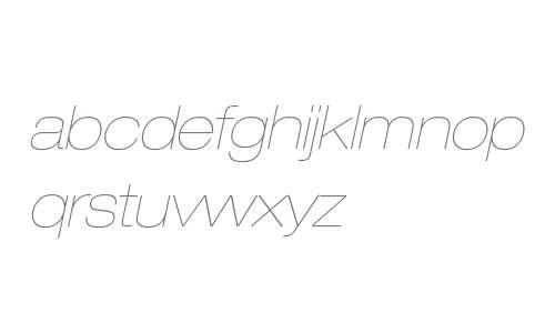 HelveticaNeueLTStd-UltLtExO