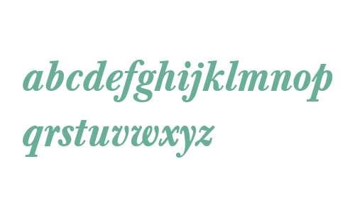 Baskerville W04 Medium Italic