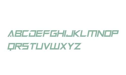 Megabot Five Italic
