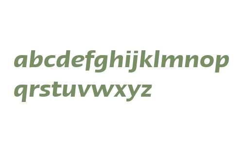 Linotype Ergo W27 Demi Italic