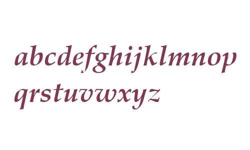 Palatino LT W04 Bold Italic