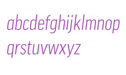 Good Offc W02 Cond Light Italic