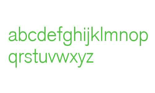 Akzidenz Grotesk Light